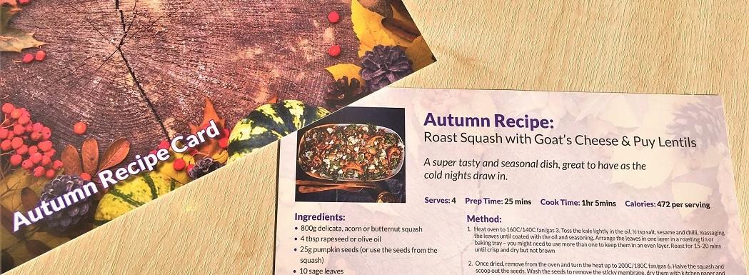 Autumn Recipe Card 19 Small