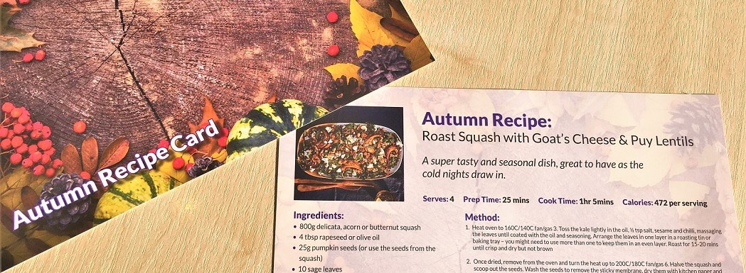 Autumn Recipe Card 19 Small